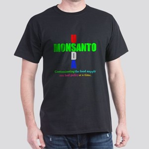 Contaminating the Food Supply Dark T-Shirt